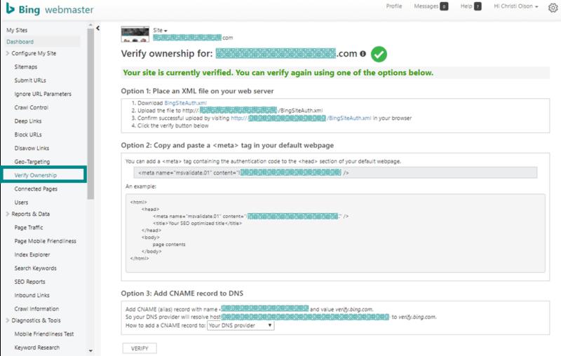 Công cụ quản trị trang web Bing - Phần 2 - 12