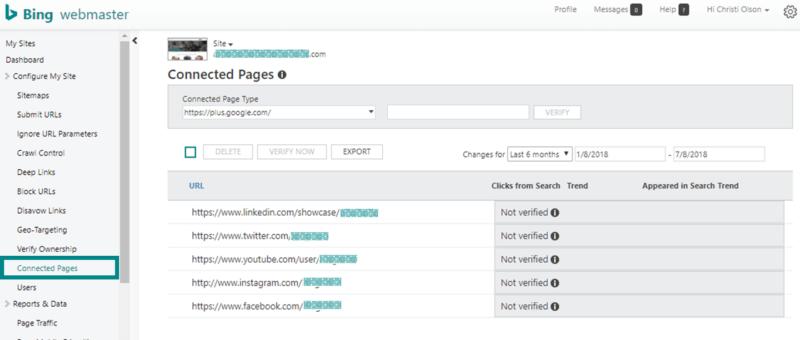 Công cụ quản trị trang web Bing - Phần 2 - 13