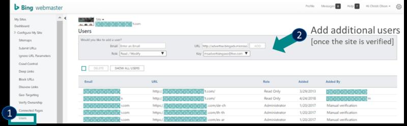 Công cụ quản trị trang web Bing - Phần 2 - 14