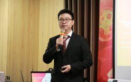 """Anh Laevis Nguyễn truyền tải kiến thức về """"văn hóa doanh nghiệp"""""""