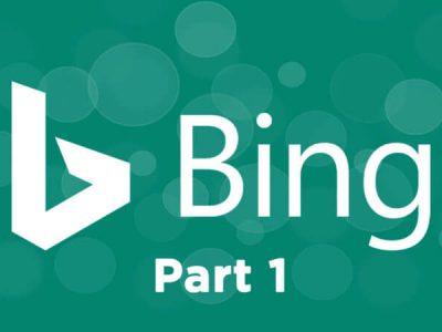 Bing Webmaster Tools 1